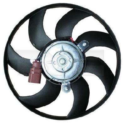 Větrák, chlazení motoru