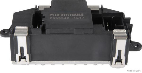 Řídící jednotka, topení/ventilace