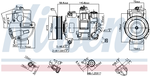 Kompresor, klimatizace
